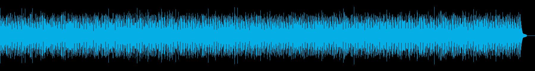 ポップでかわいらしいBGMの再生済みの波形