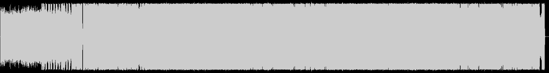 シャッフルビート・激しいメタルの未再生の波形