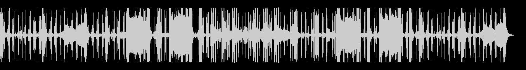 ホーンセクションのハードボイルドなビートの未再生の波形