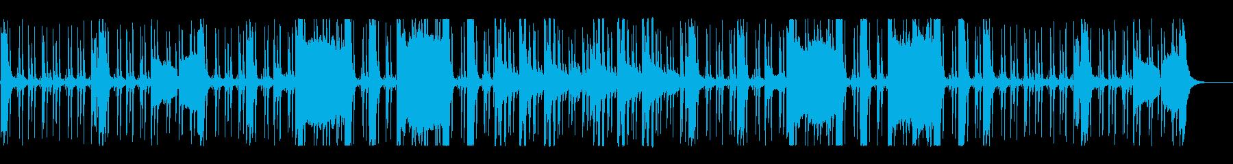 ホーンセクションのハードボイルドなビートの再生済みの波形