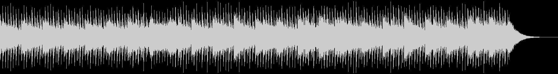 インタビューの背景(60秒)の未再生の波形