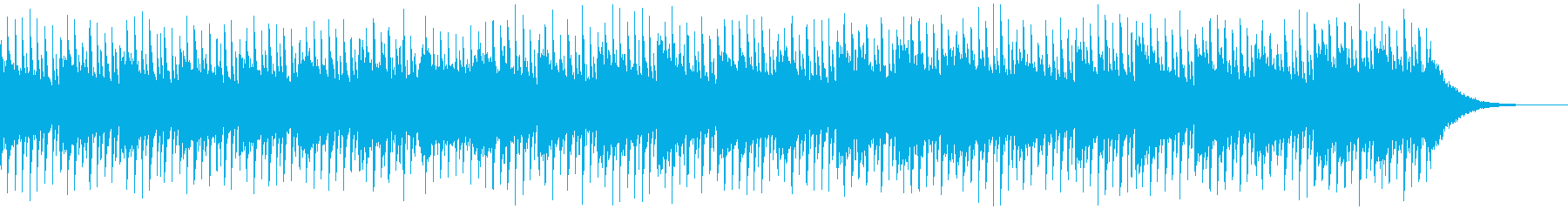 インタビューの背景(60秒)の再生済みの波形