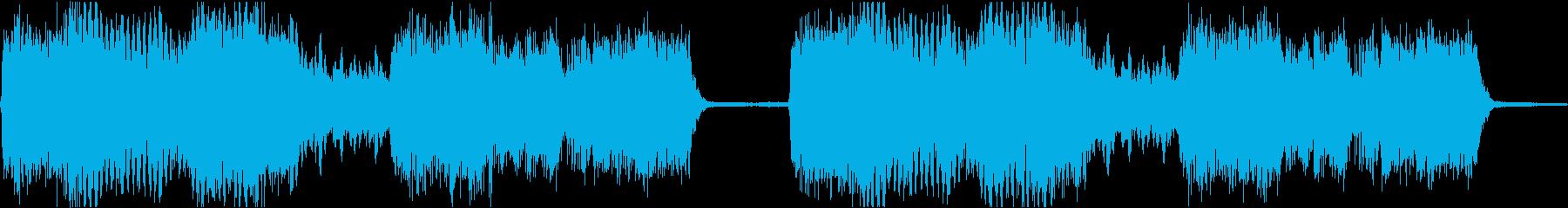サイレン siren 警報 アラート 2の再生済みの波形