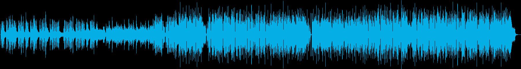 悲しい旋律の印象的なバラードの再生済みの波形