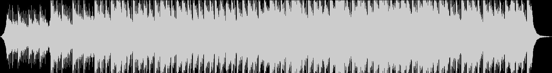 【スライドショーBGM】浮遊感・ピアノの未再生の波形
