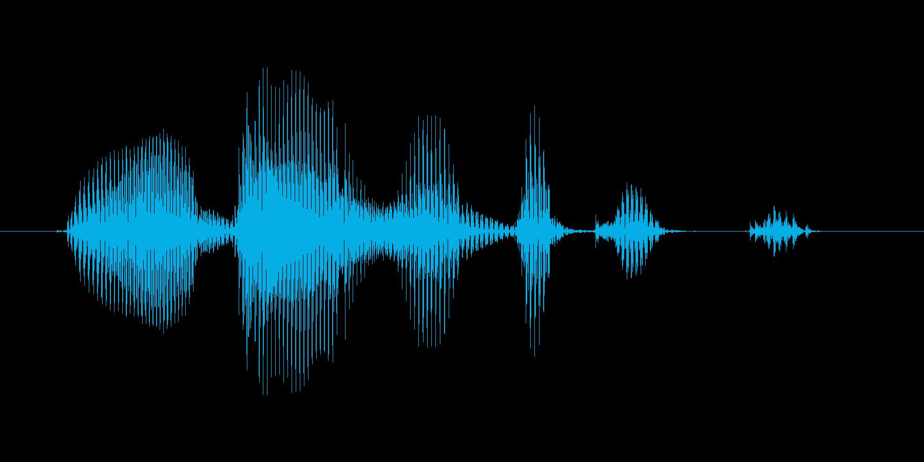 オーバーヘッドキックの再生済みの波形