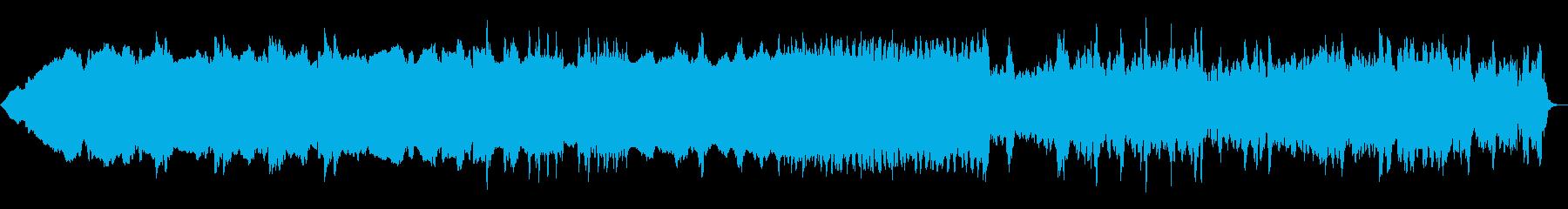 ショートミュージックチューン、外国...の再生済みの波形