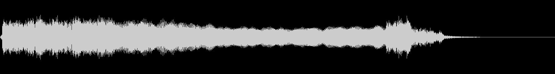 アグレッシブリック5の未再生の波形