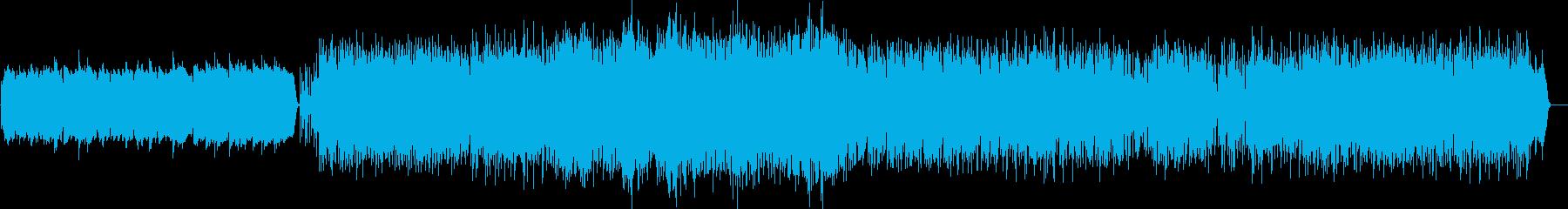 クラブジャズ風ミディアムバラードの再生済みの波形