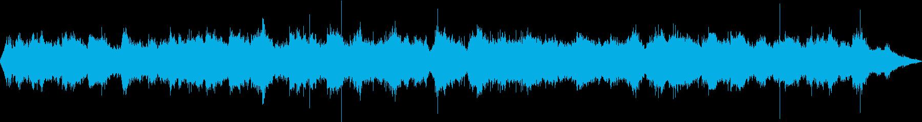 波の音です。の再生済みの波形