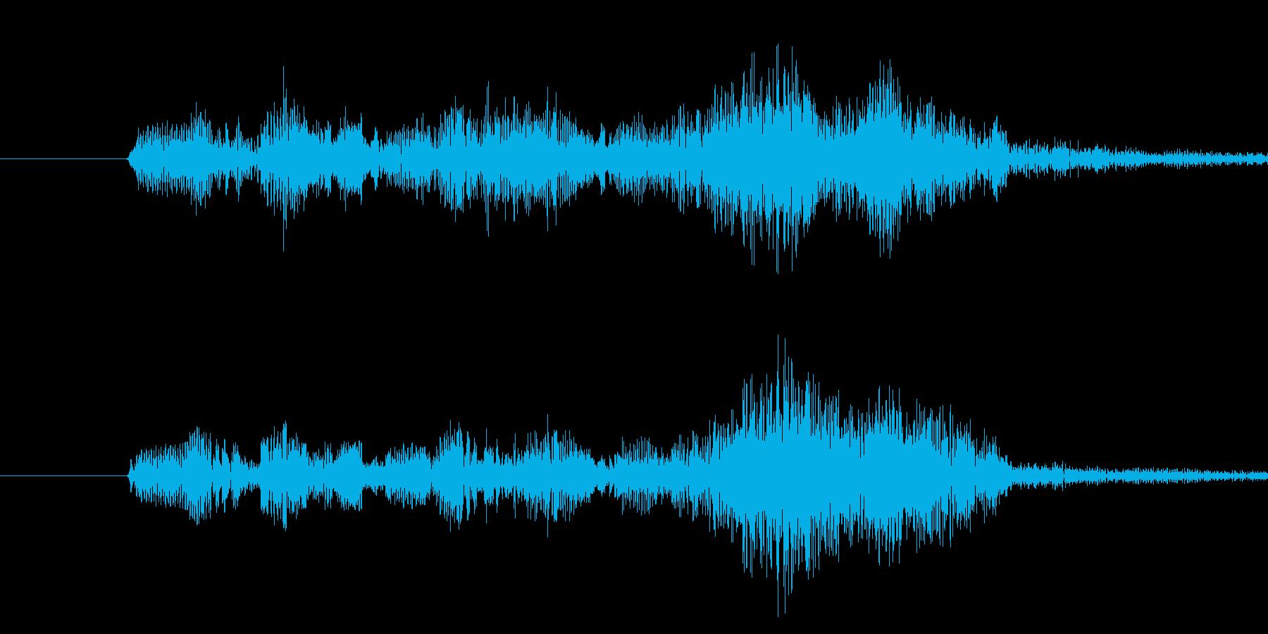 ドゥリンドゥリンドゥリンの再生済みの波形