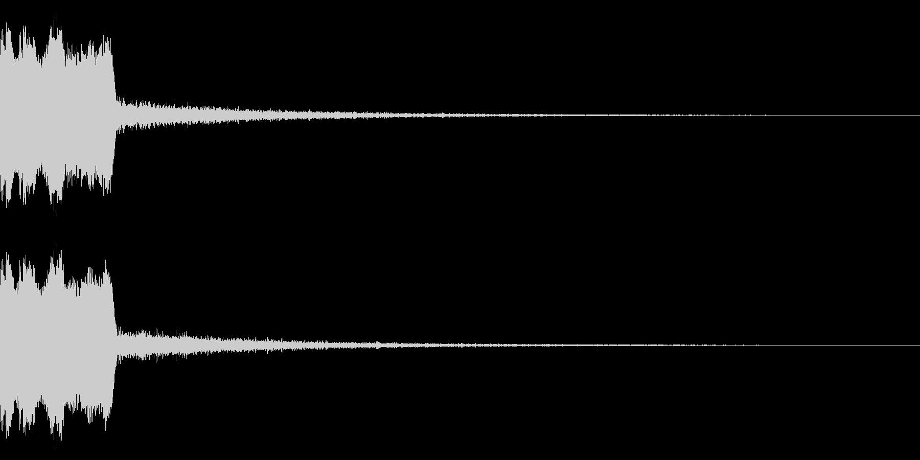 DJFX ヒットチャート発表前SE 27の未再生の波形