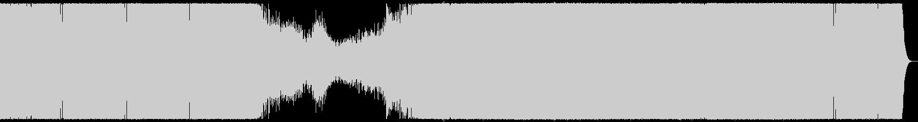 爽やかな浮遊感のプログレッシブハウス。の未再生の波形