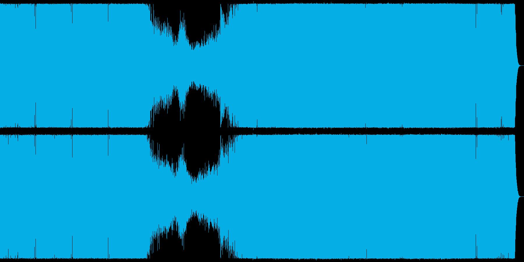 爽やかな浮遊感のプログレッシブハウス。の再生済みの波形