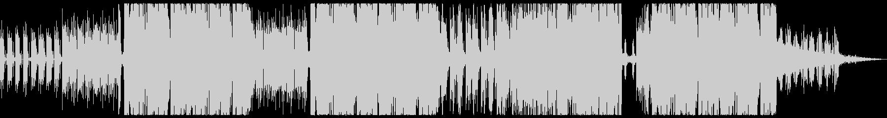 ゲームの通常ステージ時BGM的曲の未再生の波形