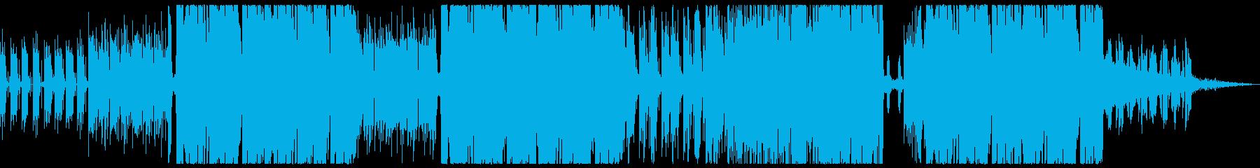 ゲームの通常ステージ時BGM的曲の再生済みの波形