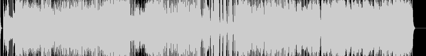 よさこい 演舞 4分 和楽器 三味線の未再生の波形