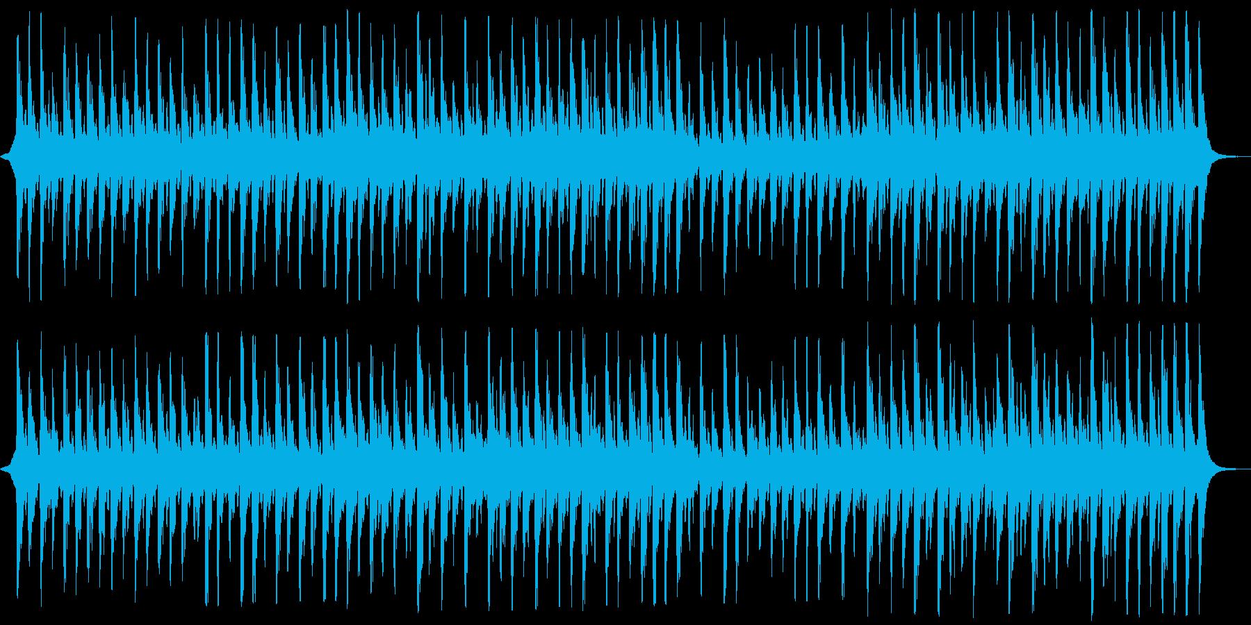 格調高い、厳かなストリングスの再生済みの波形
