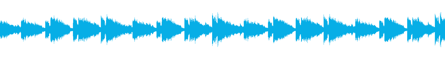 【エレピ】悲しげ ピアノ【ピアノ】の再生済みの波形