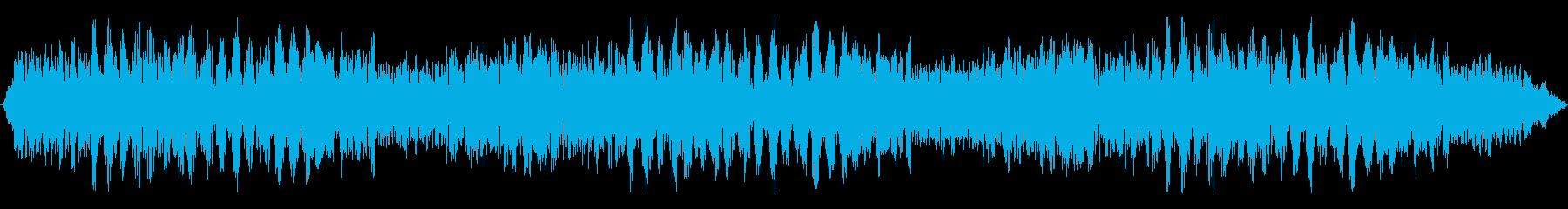パワードローン、低音のドキドキ、わ...の再生済みの波形
