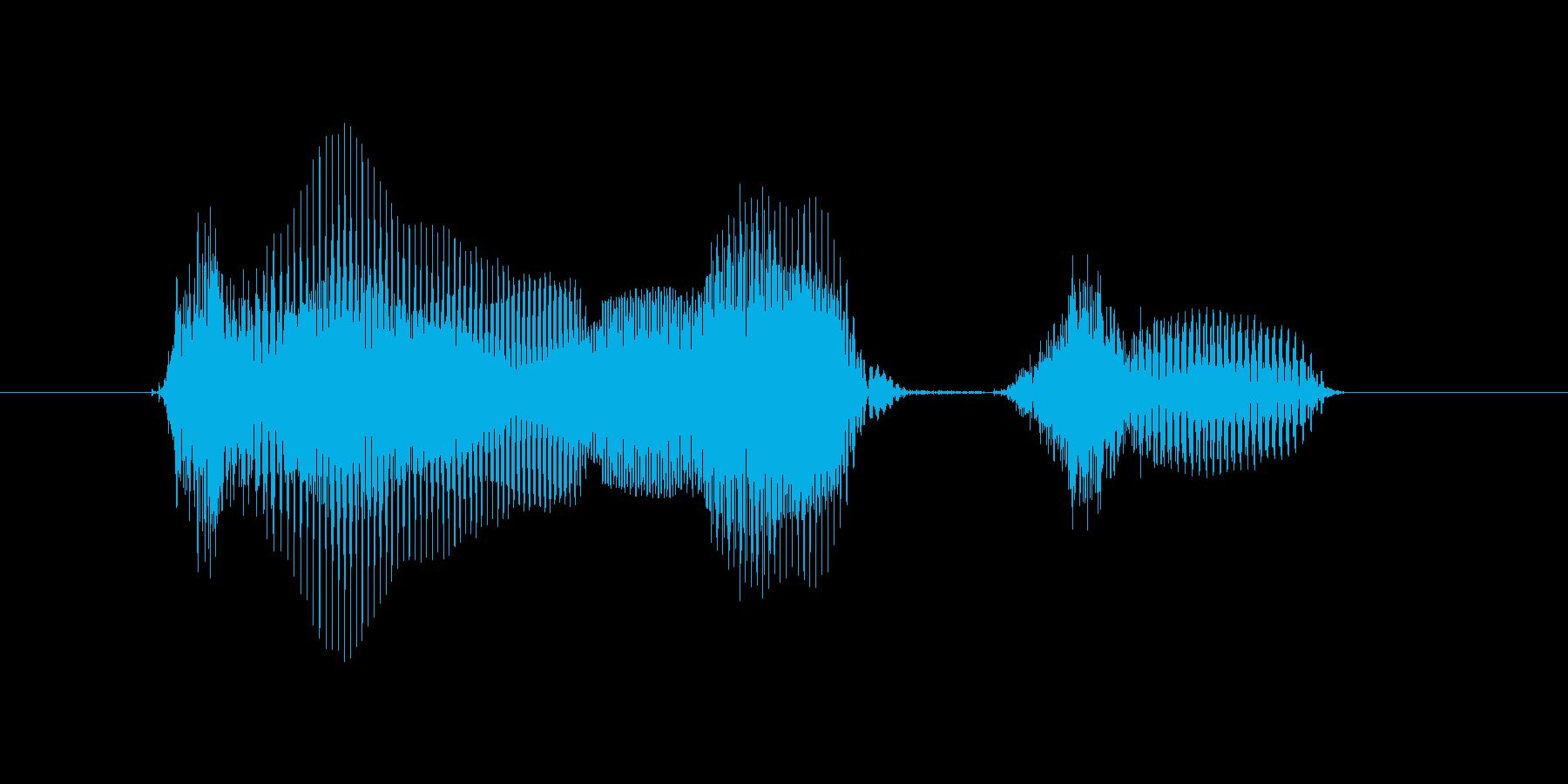 10月(10月・十月)の再生済みの波形