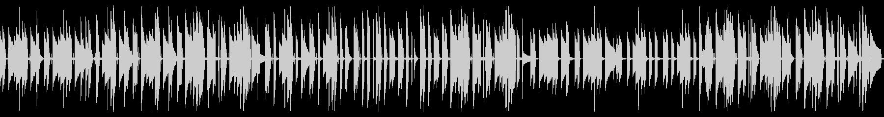 アコギのんびりほんわかフォークトロニカの未再生の波形