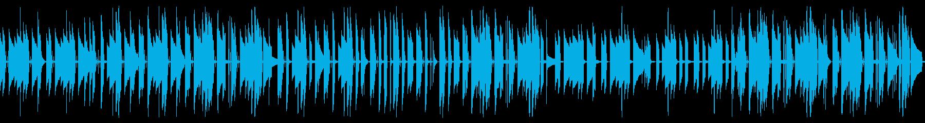 アコギのんびりほんわかフォークトロニカの再生済みの波形