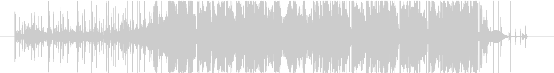 トラップ ヒップホップ アクティブ...の未再生の波形