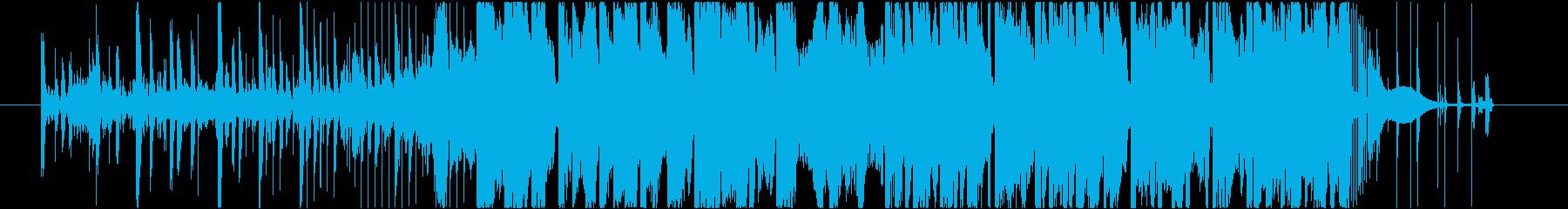 トラップ ヒップホップ アクティブ...の再生済みの波形
