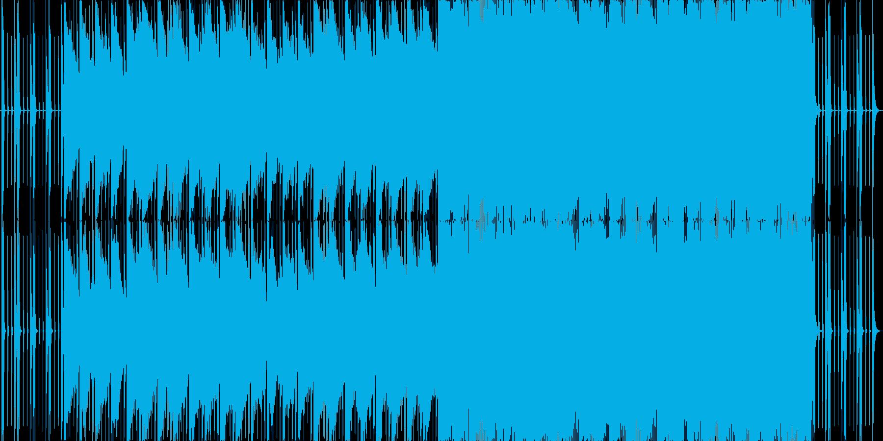 ダイナミックで破壊力あるメロディーの再生済みの波形
