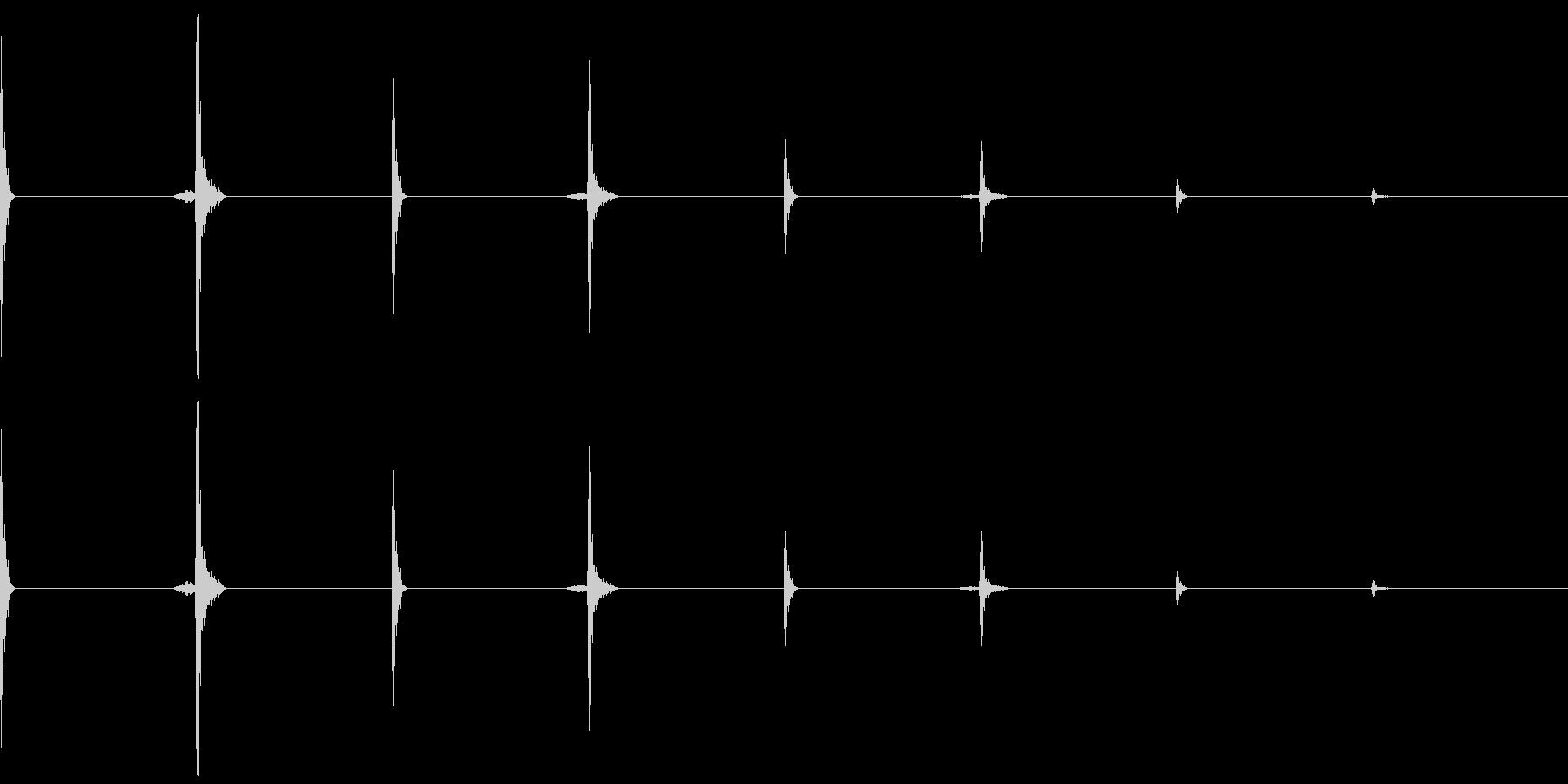 時計、タイマー、ストップウォッチ_D_4の未再生の波形