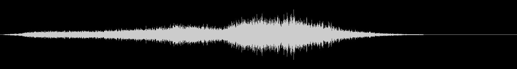 ホラー系効果音11の未再生の波形
