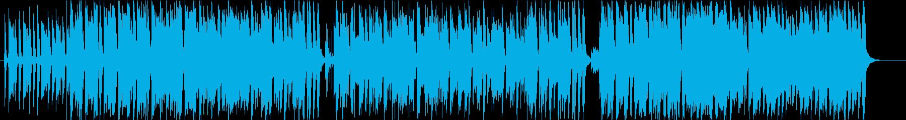 爽やかでおしゃれなボサノヴァ曲の再生済みの波形
