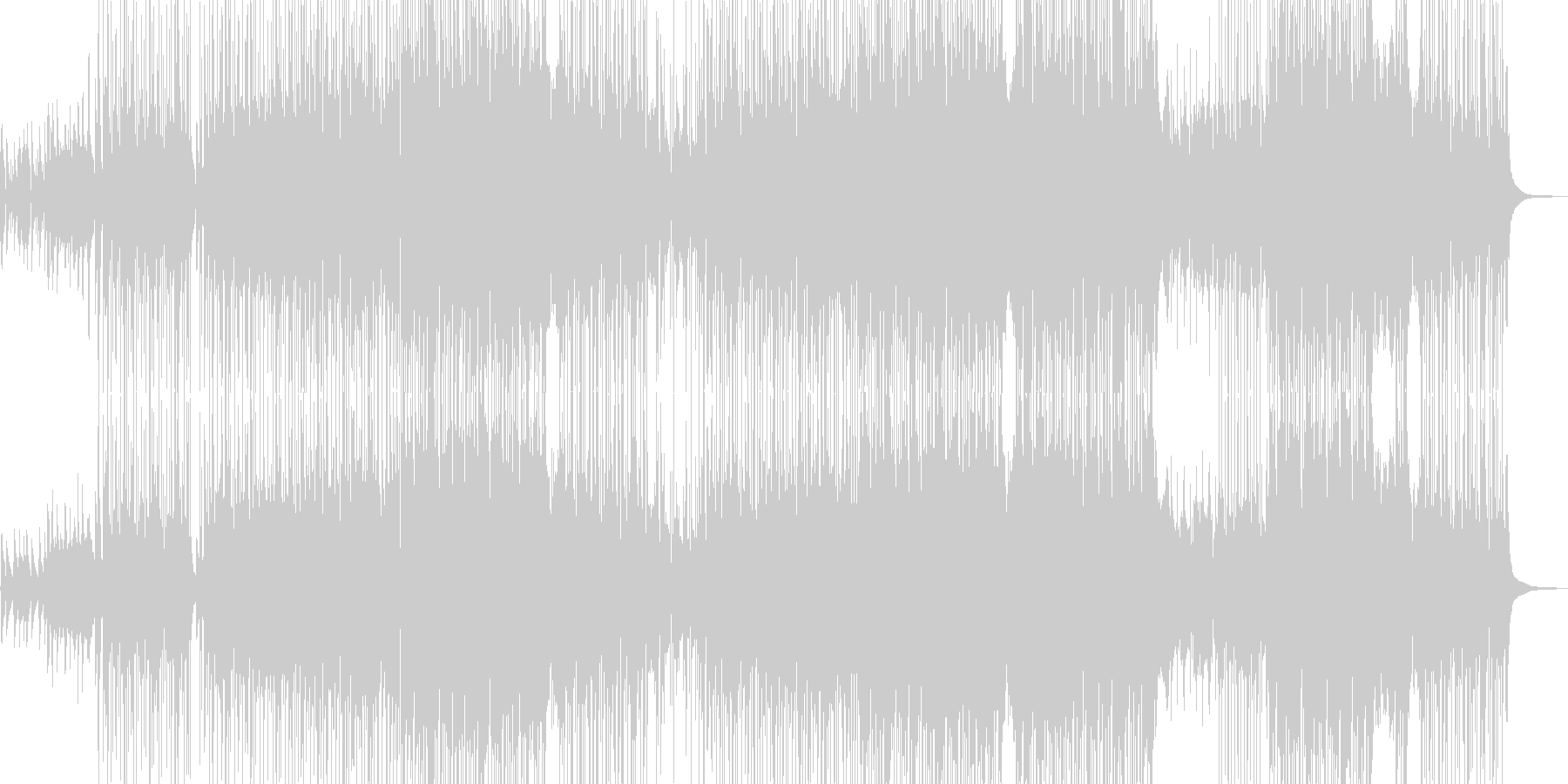 爽やかな木管とギターのポップス L+の未再生の波形