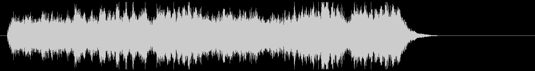 クイズの正解音風ロングバージョンジングルの未再生の波形