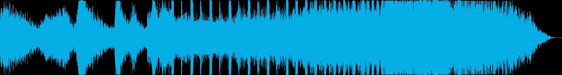 重厚な扉を開くBGMの再生済みの波形