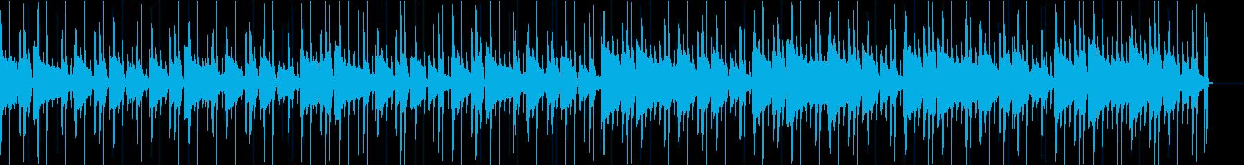 おだやかなギターが目立つダウンテンポの再生済みの波形