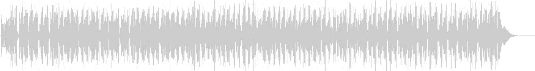 ジ・エンターテイナー アコギ 生演奏の未再生の波形