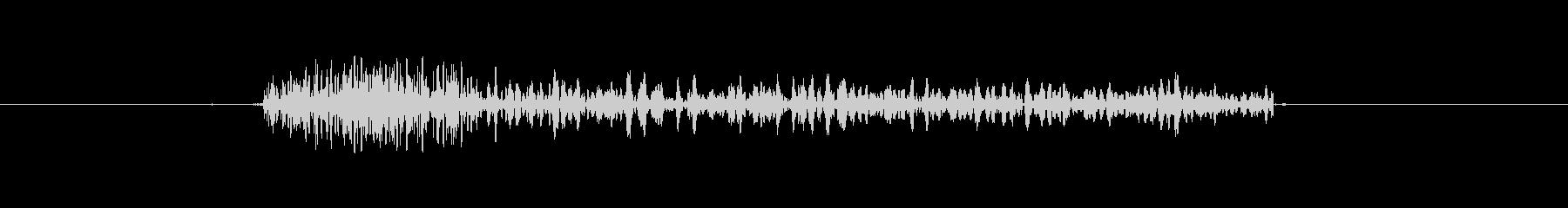 カチッとなるカジュアル効果音の未再生の波形