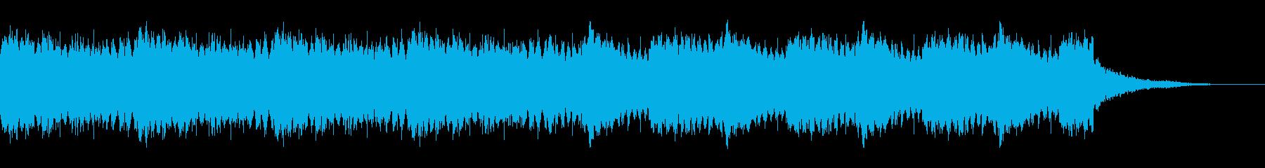 【ホラー・SF系】都会、サスペンスBGMの再生済みの波形