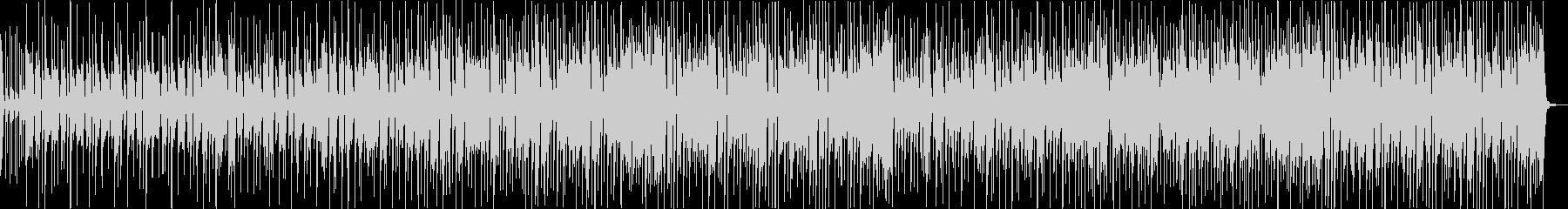ゆったり楽観的な音楽トラックの未再生の波形