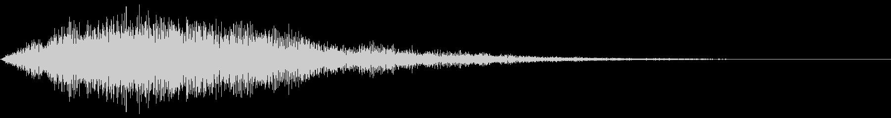 【ホラーゲーム演出】雷シンセパッド_01の未再生の波形