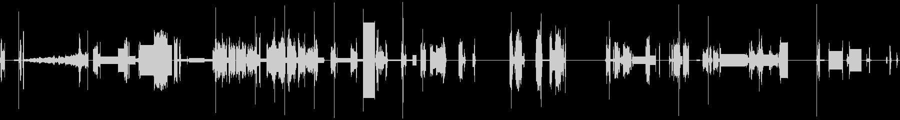 ゴーカート;遠方(数)、L / S...の未再生の波形