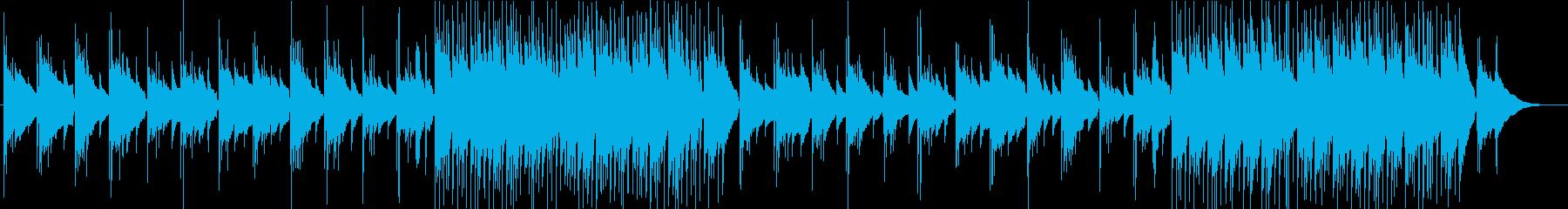 アコギ生演奏 前向き 浮遊感の再生済みの波形