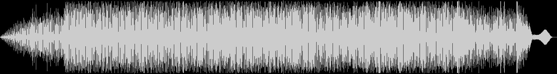 ゆったり穏やかなテクノ(アナログシンセ)の未再生の波形