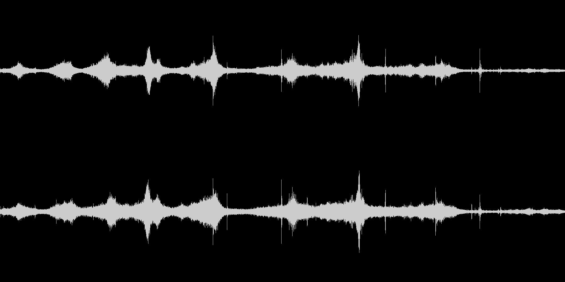 道路上の様々な音(Wav用に再編集)の未再生の波形