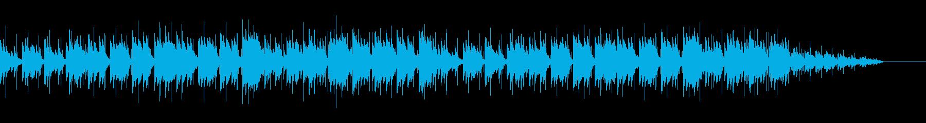 しっとりとしたピアノ(ループバージョン)の再生済みの波形