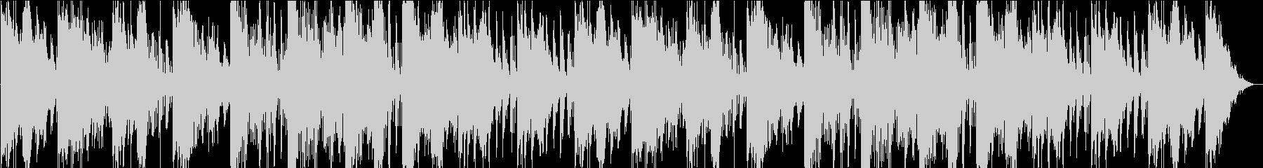 不思議な重く緊迫感のあるオーケストラの未再生の波形