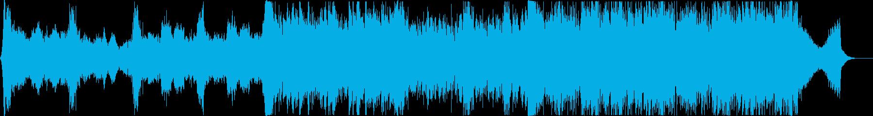 映像系に合う壮大なオーケストラ風の再生済みの波形