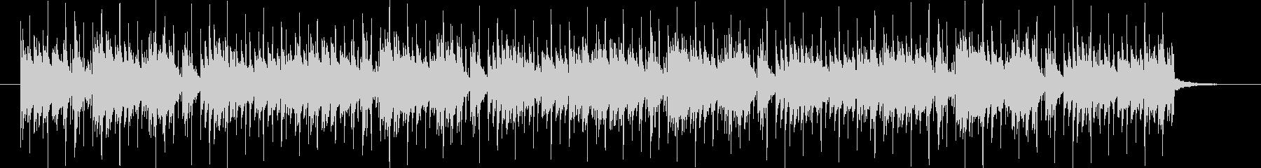 スピード感のある軽快なピアノBGMの未再生の波形